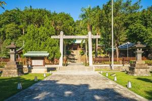 santuário dos mártires taoyuan, antigo santuário xintoísta taoyuan, taiwan foto