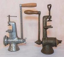 objetos antigos para decoração foto