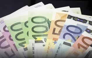 dinheiro da companhia aérea em dinheiro foto