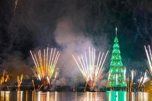 inauguração da árvore de natal da lagoa rodrigo de freitas foto