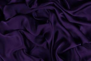 a textura de tecido de seda ou cetim de luxo pode ser usada como fundo abstrato. vista do topo. foto