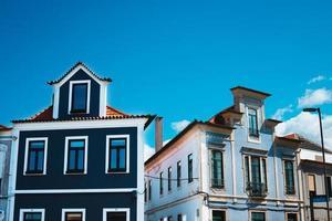 aveiro, portugal. casas típicas foto