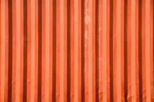 textura de armazém de contêiner de superfície laranja foto