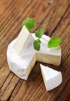 queijo de casca branca foto