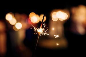 estrelinhas no casamento, luz no fundo ... foto