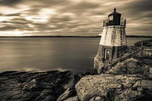farol de Oldcastle em Newport Rhode Island foto