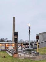 em um plano de tratamento de águas residuais nos EUA foto