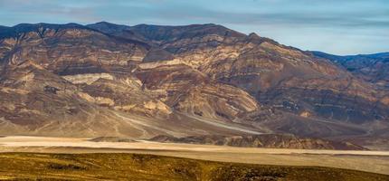 cenário do parque nacional do vale da morte foto