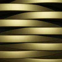 fundo dourado luxuoso com textura de metal em estilo abstrato 3d foto