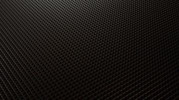3D render moderno padrão triangular de fundo preto foto