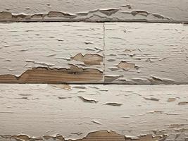 textura de madeira com tinta branca velha. tábuas de madeira como pano de fundo foto