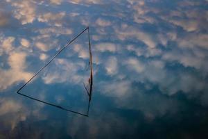 massa marittima, lago accesa - grosseto, toscana, itália foto