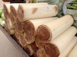 peças vegetais naturais na loja foto
