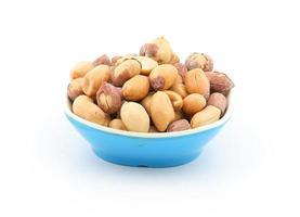 amendoim salgado fresco foto