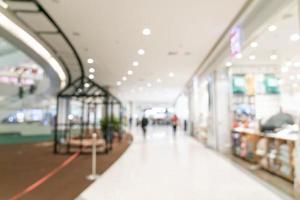 Resumo desfocar shopping e loja de varejo para o fundo foto