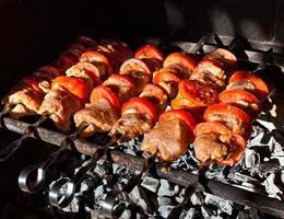 carne para churrasco foto