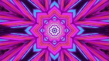 ornamento psicodélico colorido ilustração 4k uhd 3d foto