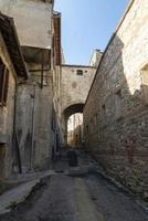 edifícios em narni, itália, 2020 foto