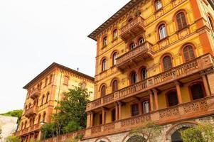 edifícios na cidade de perugia, itália, 2021 foto