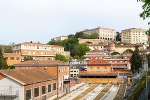 estação velha de sant anna em perugia, itália, 2021 foto