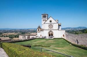 igreja de san francesco em assis, itália, 2021 foto
