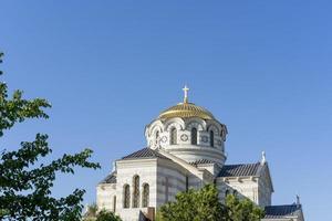 st. catedral de vladimir em chersonesos, sevastopol foto