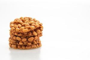 biscoitos de amendoim fritos tailandeses foto
