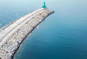 porto turístico de impéria na ligúria foto