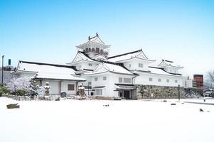 Castelo de Toyama, também conhecido como Castelo de Azumi, na cidade de Toyama no Japão foto