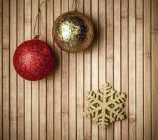 fundo de compras de presentes de feriado de natal foto