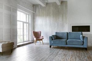 design de interiores do quarto. conceito de foto bonita de alta qualidade