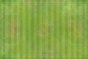 vista aérea do campo de futebol, estádio de futebol, estádio de futebol foto