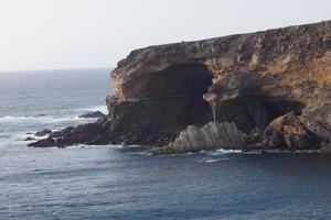as cavernas de ajuy - fuerteventura - espanha foto