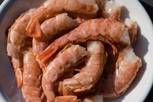 camarões vermelhos grelhados argentina foto