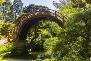 o jardim de chá japonês em golden gate park, são francisco, califórnia, eua foto