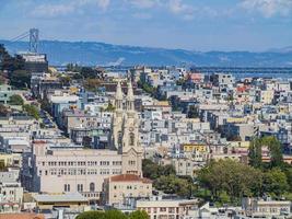 paisagem urbana de são francisco, califórnia, eua foto