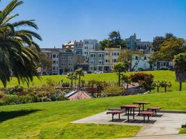 o mission dolores park em san francisco, califórnia, eua foto