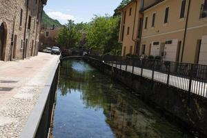rio negro da província de Scheggino de Perugia foto
