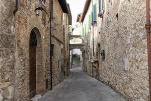 arquitetura da vila de san gemini foto