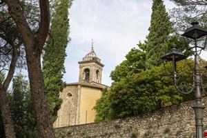 torre do sino de santo gemini na cidade de san gemini foto