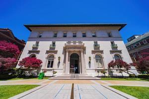 vista externa das escolas do sagrado coração em san francisco, califórnia foto