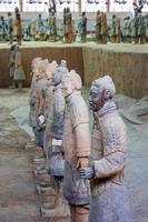 província de shaanxi, china, 2021 - o exército de terracota em xian foto