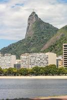 imagem do cristo redentor no rio de janeiro, brasil. foto