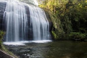 cachoeira das sete quedas na serra da bocaina em são paulo. foto