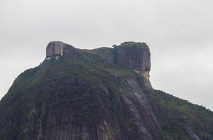 vista da pedra gavea no rio de janeiro, brasil foto
