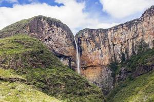cachoeira em minas gerais, brasil foto