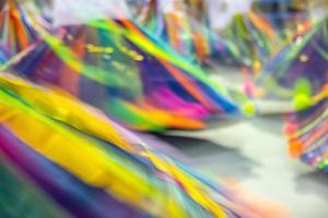 vestido de baianas de samba em movimento no rio de janeiro foto