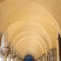 galeria em perspectiva em veneza - itália foto