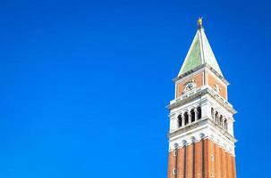 campanário de São Marcos em Veneza foto
