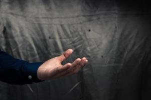 gestos de mãos humanas para atividades foto